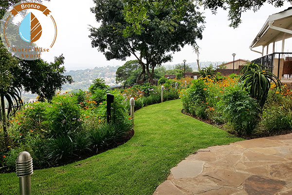 Servest Landscaping & Turf, a division of Servest Pty Ltd <br/>for<br/> Department of Public Works - Ministerial House A, 190 Strelizia Rd