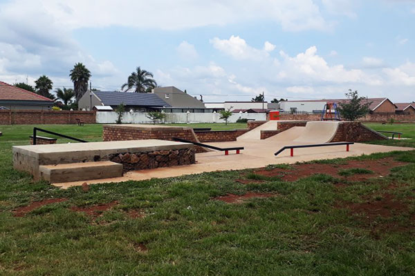 Tswellapele Plants <br/>for<br/> Pongola Park Skateboard Court